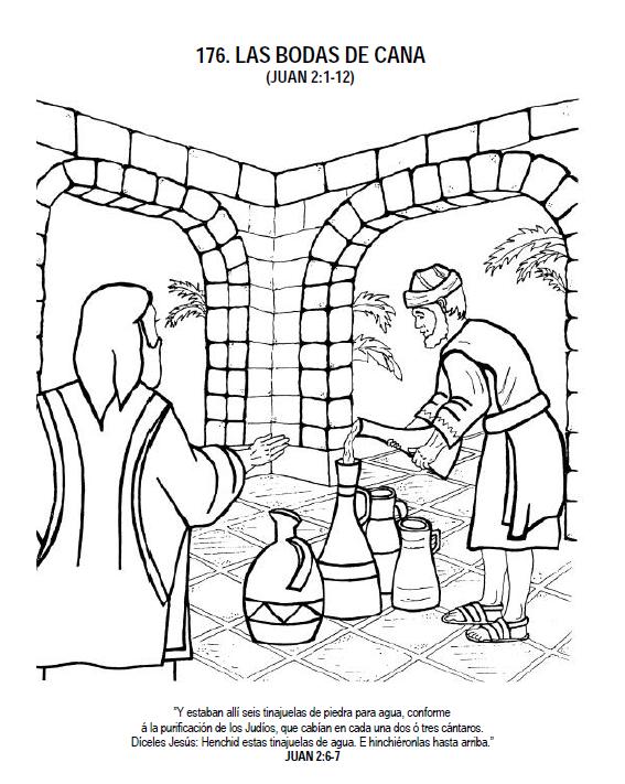 Esta imagen esta incluida en la historia bíblica las Bodas de Cana (Clase para la escuela dominical) y los puedes descargar aquí. Clic en el boton Descargar
