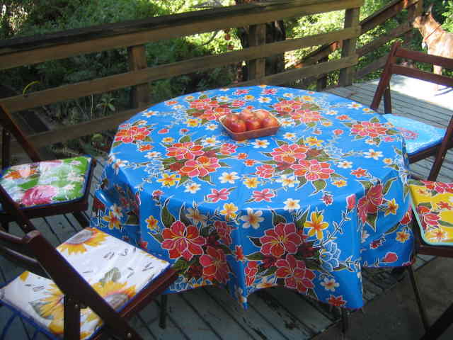 The Wonderful World Of Vogue Fabrics: Oilcloth   Why You Need This Fabric
