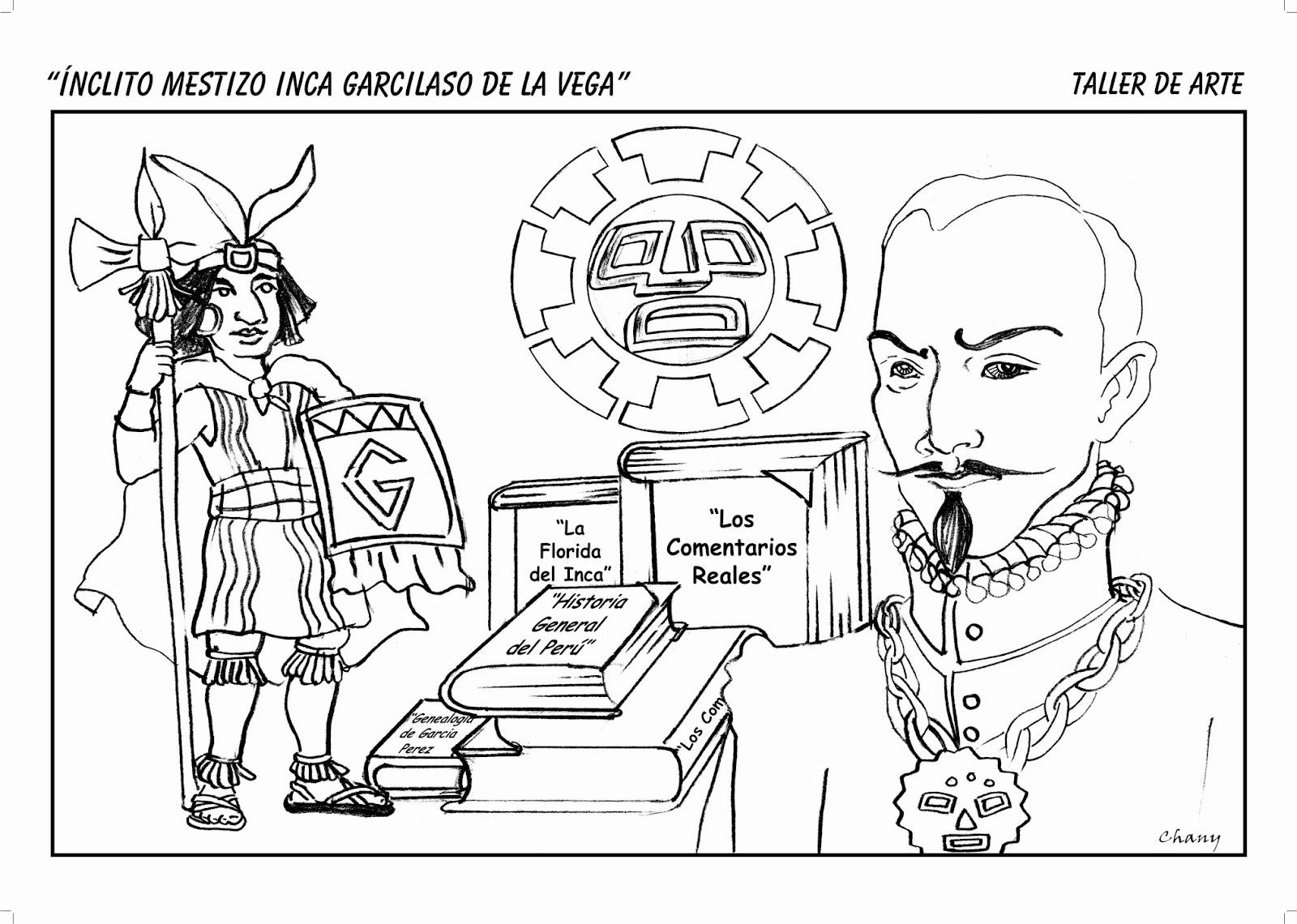 Arte y las tics Roxany Salinas Villanueva: Inca Garcilaso de la Vega