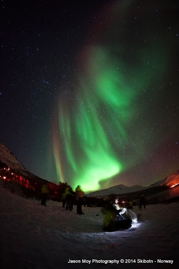 Hampir Setiap Malam di Norwegia Muncul Aurora
