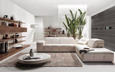 Desain Ruang Tamu Masa Kini Rumah Modern Minimalis