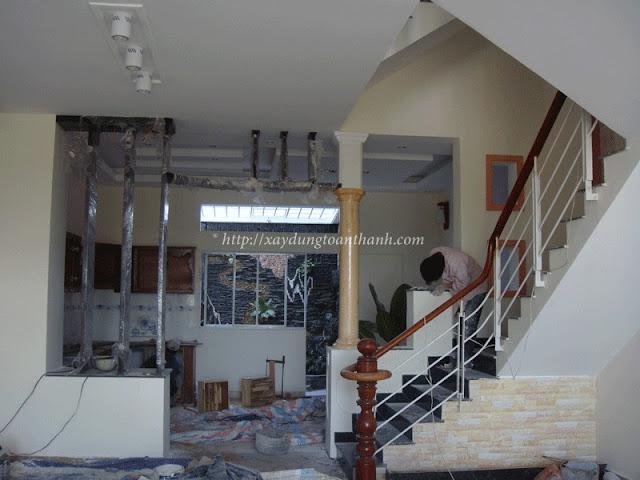 thi công sửa nhà trọn gói