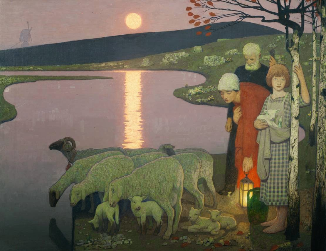 cayley robinson symbolist painter and illustrator tutt