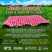 Picnic Literario: Libro Al Viento en tu Jardín