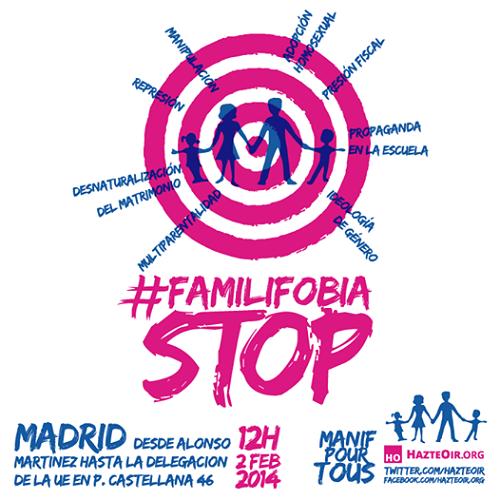 Las Feminazis de España Destruyen la Familia