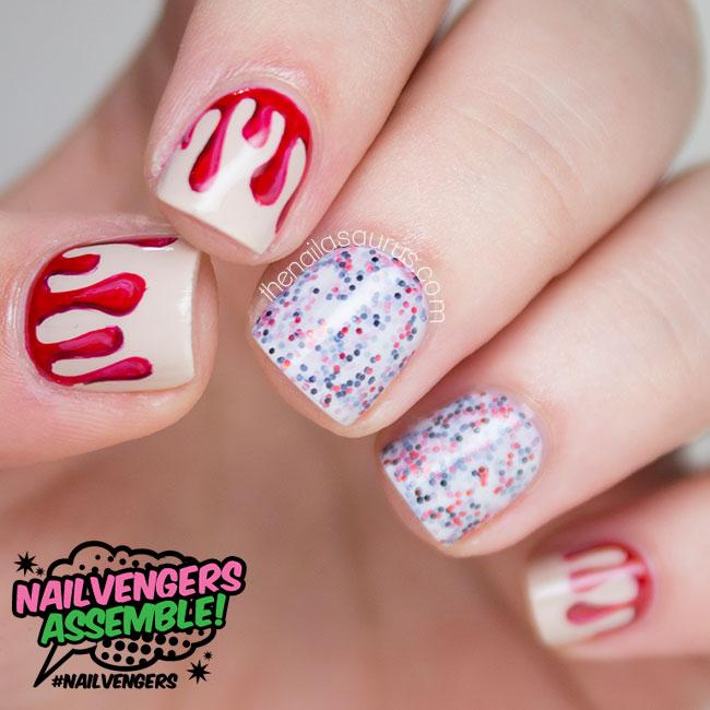 Q Riouser Q Riouser Nail Art: Nailvengers Assemble: Halloween Nail Art