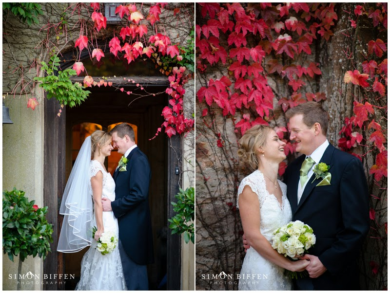 Bride and Groom portrait wedding photography Maunsel House