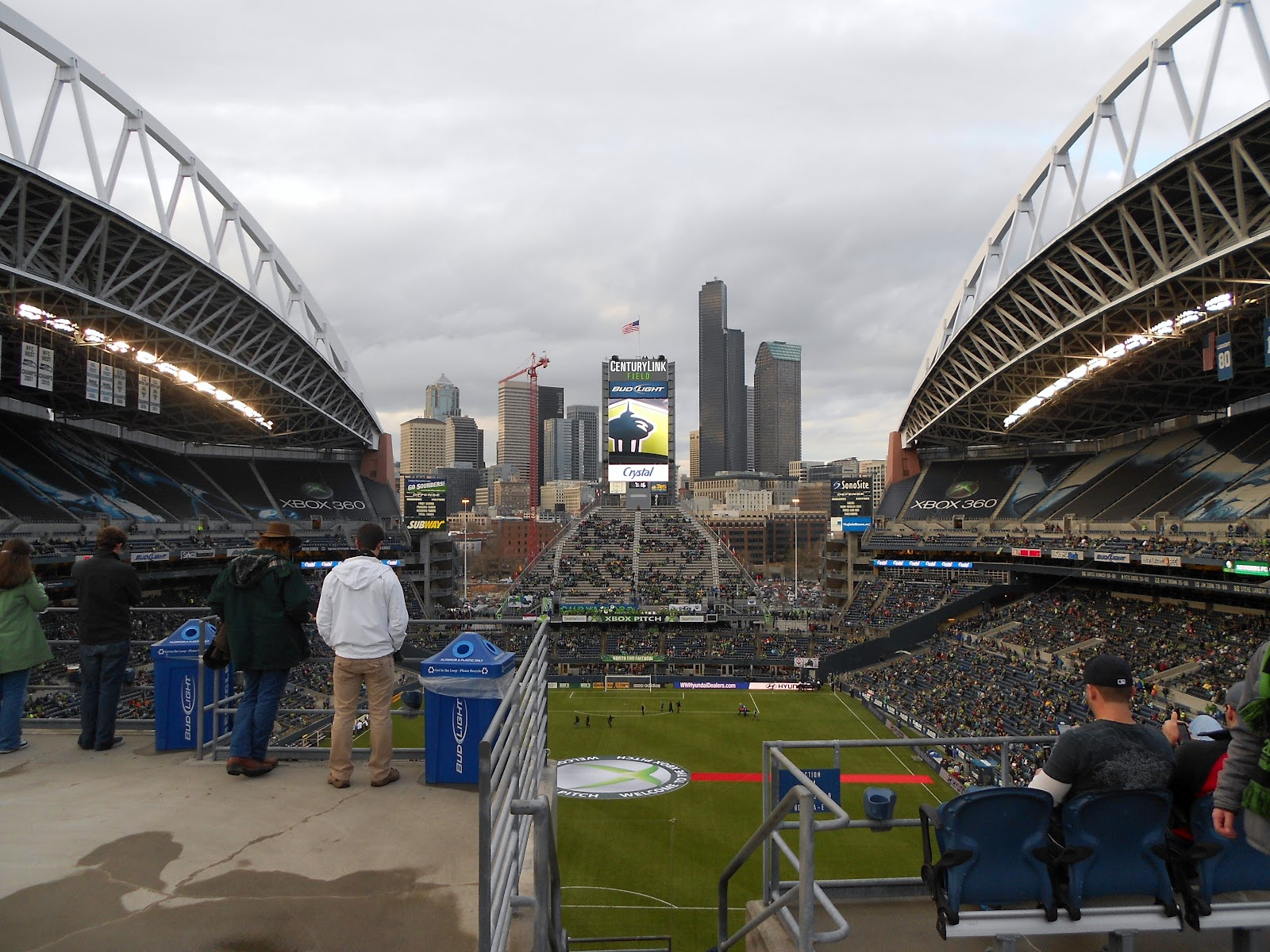 Go Mad Or Stop Caring Away Day Diary Seattle Sounders 0