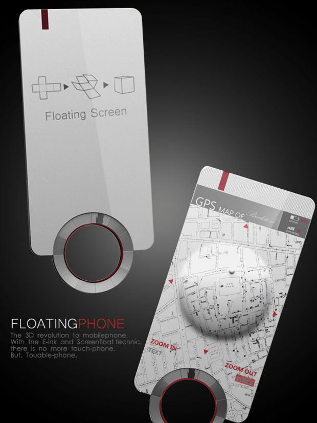 Floating Phone Concept 1