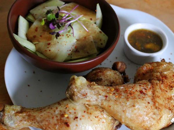Knuspriges Hühnchen frei nach Jamie Oliver