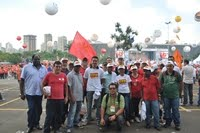Ato Contra Desindustrialização na Assembleia Legislativa em São Paulo 04-04-2012