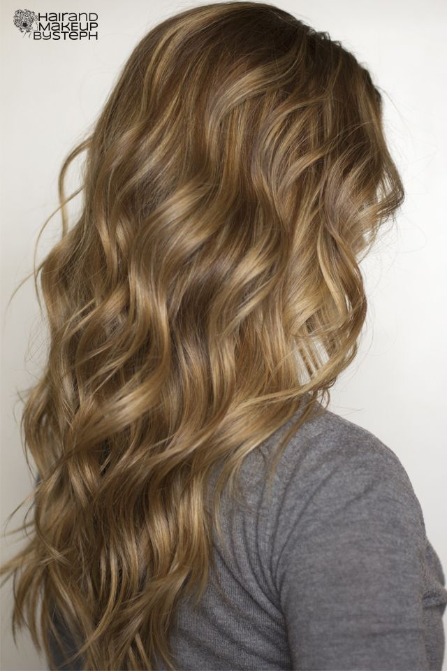 see more Soft flat iron curls