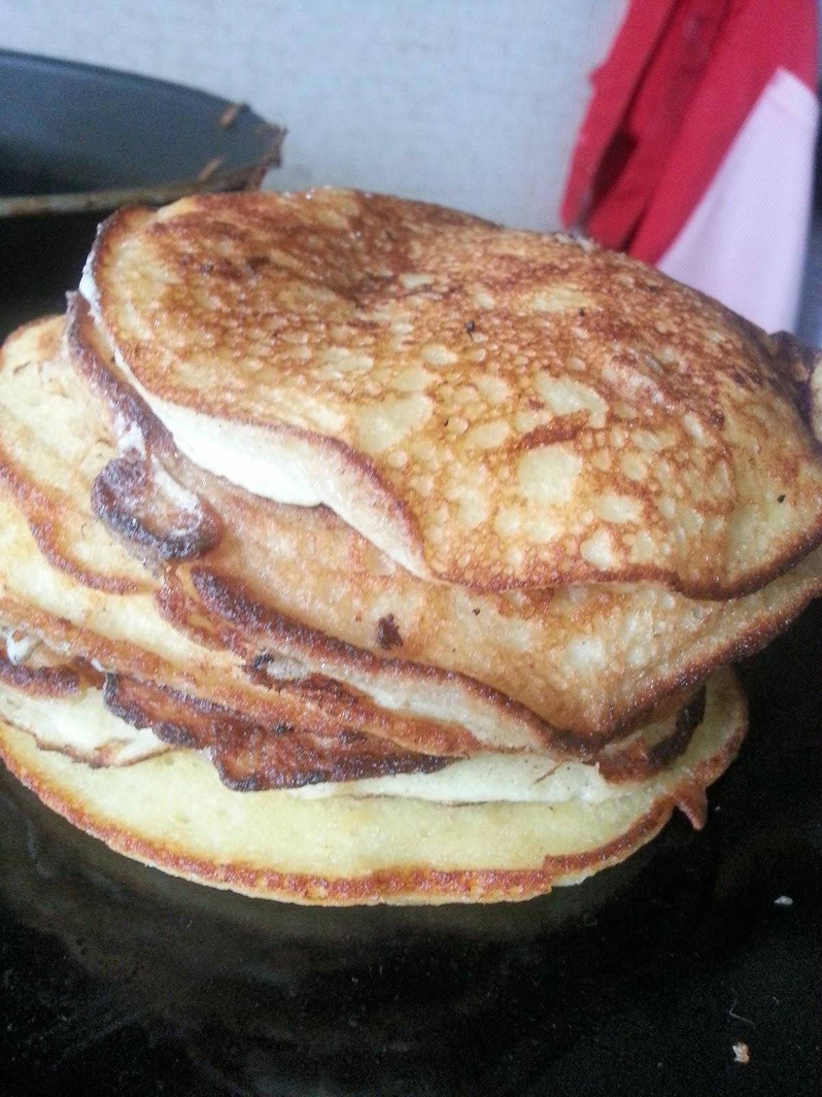 cupcook pancakes sans beurre sans repos