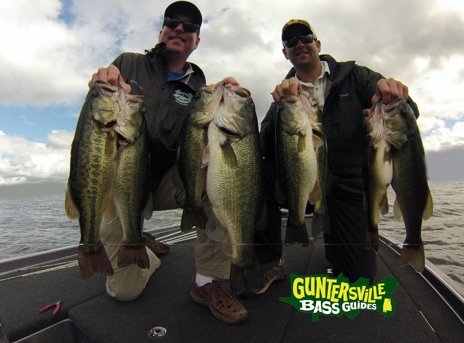 Lake guntersville fishing report guntersville bass guides for Lake eufaula alabama fishing report
