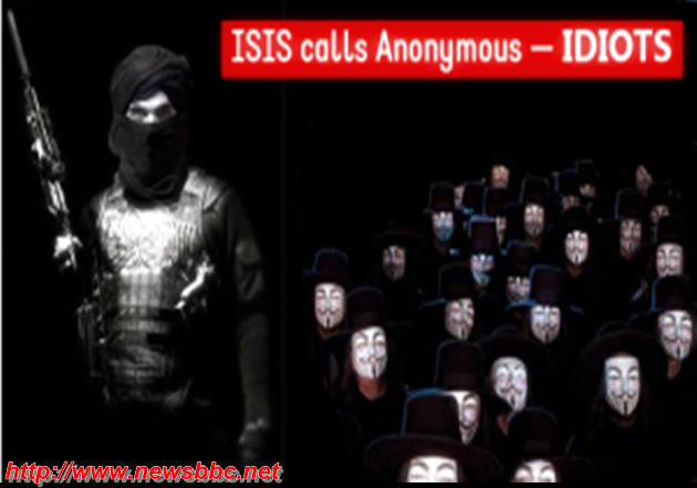 "ISIS anonymous calls "" IDIOTS "" and issues 5 Tips lame for its members to avoid hacking"