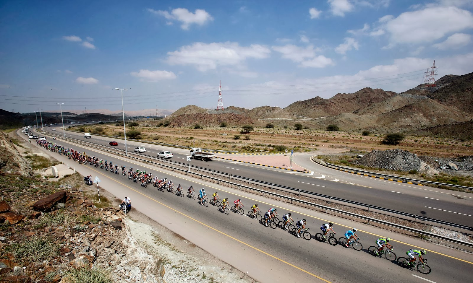 Al-Bustan, Andre Greipel, Australia, Belgium, Cycling, Cycling Race, Germany, Howard Leigh, Muscat, Oman, Sports, Stage 3, Tour of Oman, Tour of Oman 2014, Van Hecke Preben,