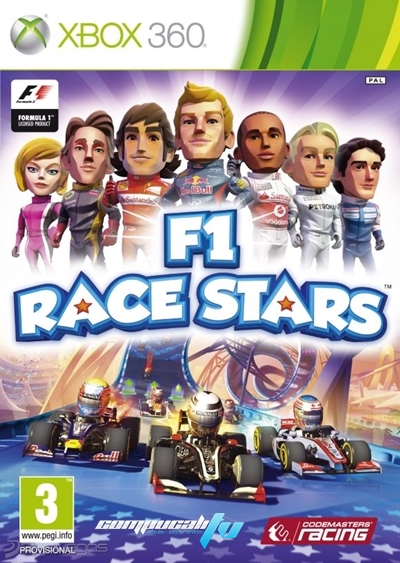 F1 Race Stars Xbox 360 Espaol Regin Free Descargar 2012 