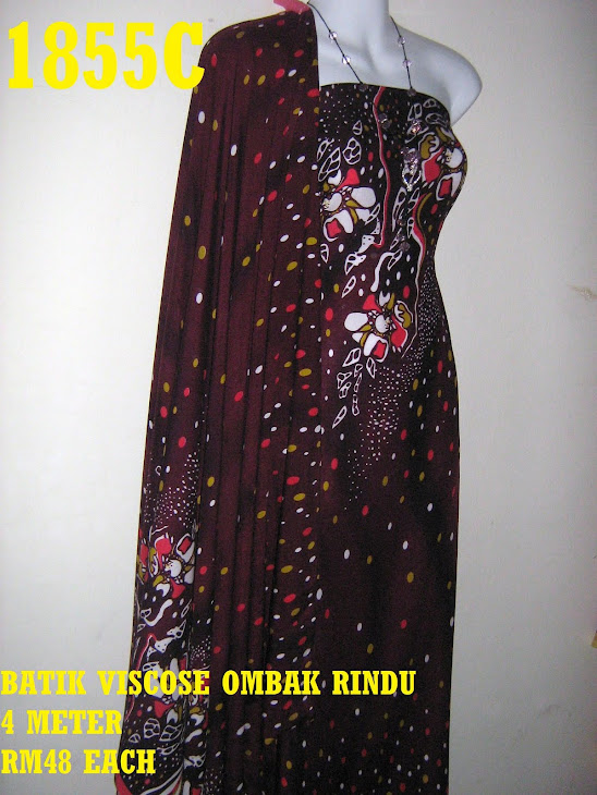 BV 1855C: BATIK VISCOSE EXCLUSIVE OMBAK RINDU, 4 METER