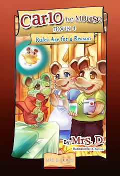 COMING SOON! CARLO THE MOUSE - BOOK 4