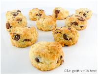 """Biscuits """"scones"""" aux pépites de chocolat"""