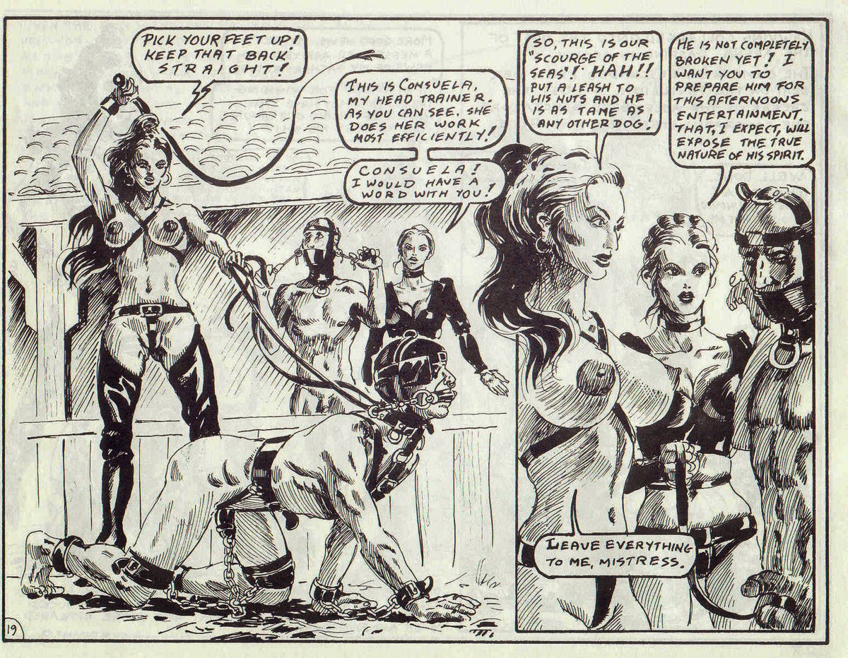 ironwood spanish leather femdom comic