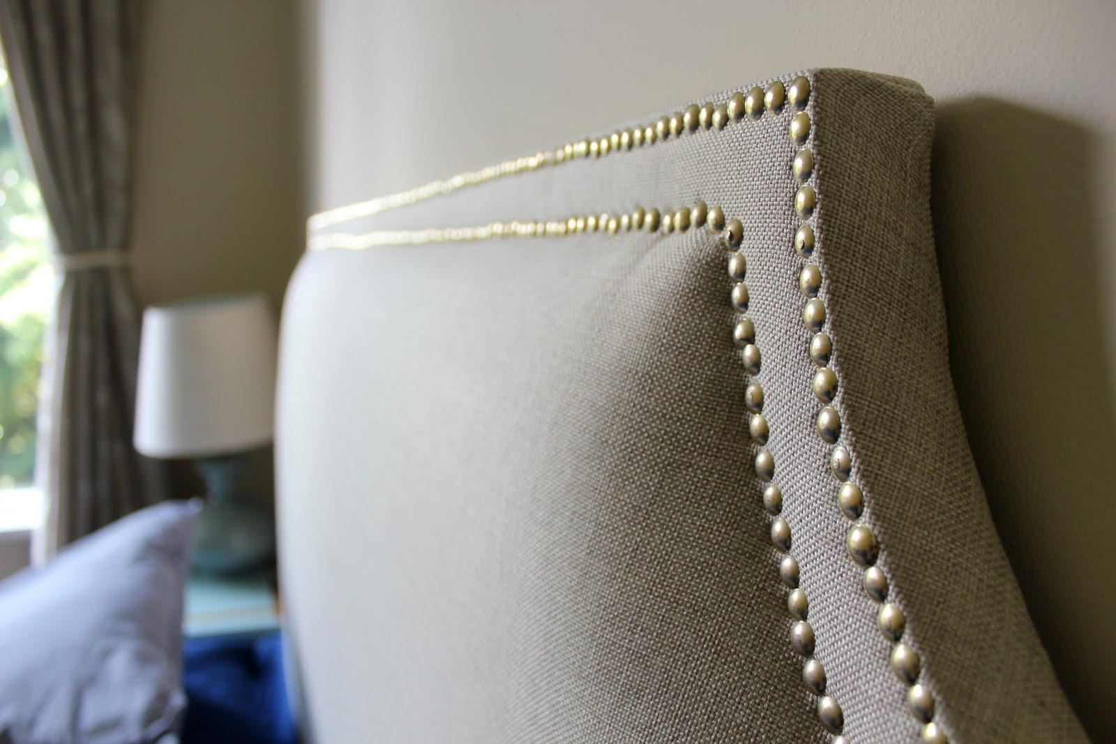 My Decor Education: 7 simple steps to a DIY upholstered headboard ...