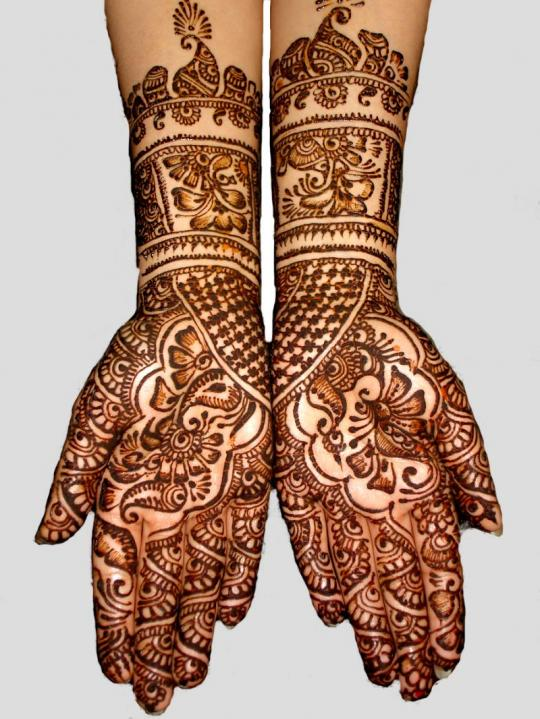 Remains Intact In Henna Tattoo Designs As It Is Simple And Beautiful