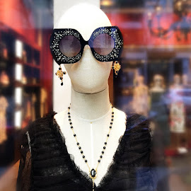 Dolce & Gabbana jeweled sunglasses.