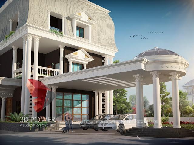 3d Villa designs company
