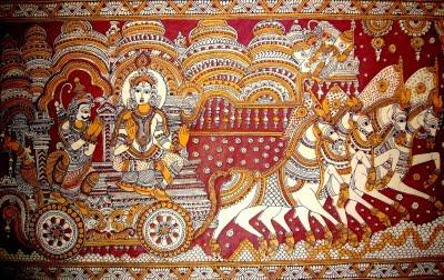 The Cultural Heritage Of India Kalamkari Paintings Of