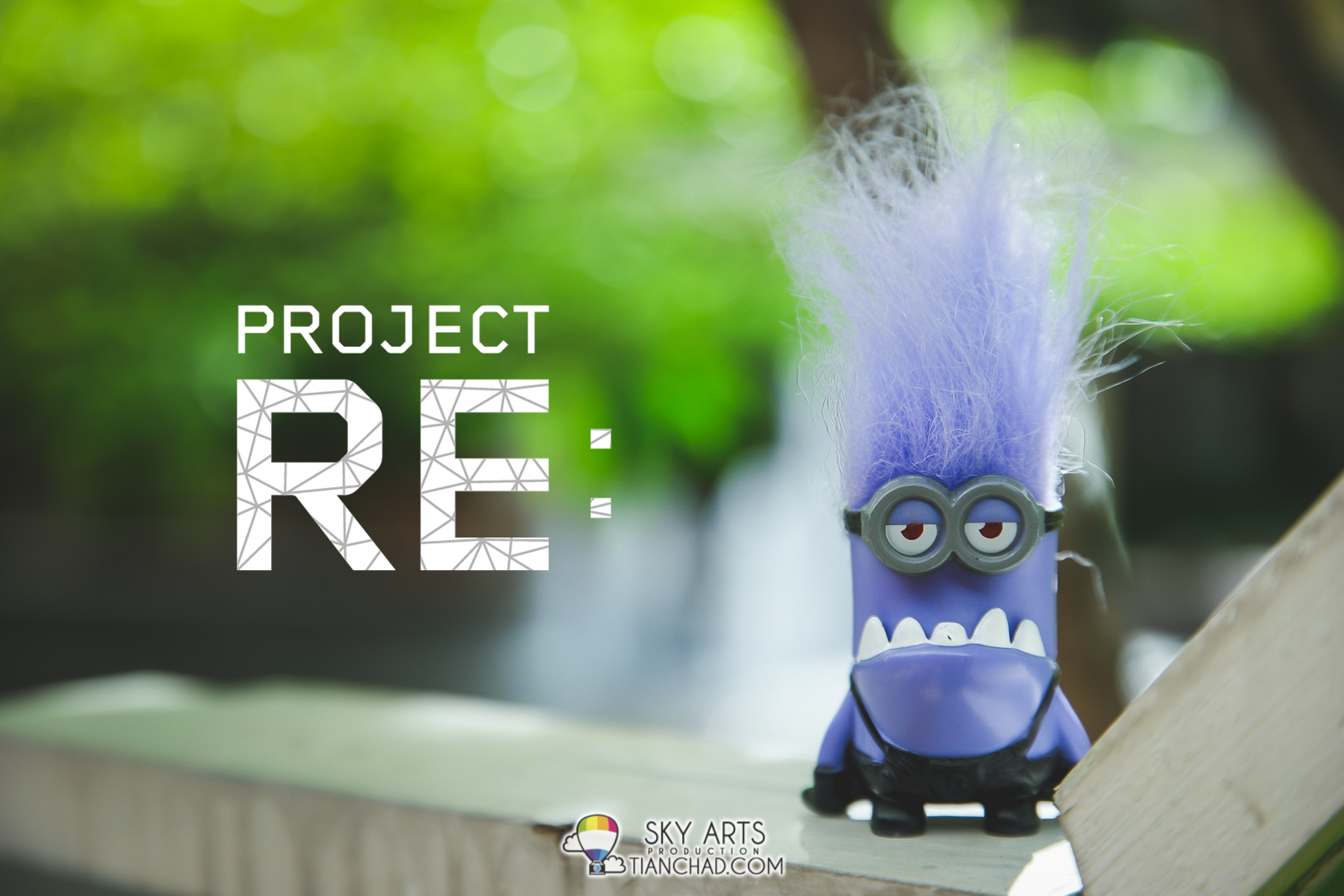 Project:RE with Evil Minion as my travel partner along the photography project