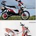Kumpulan gambar foto modifikasi motor matic yamaha x ride keren terbaru 2014