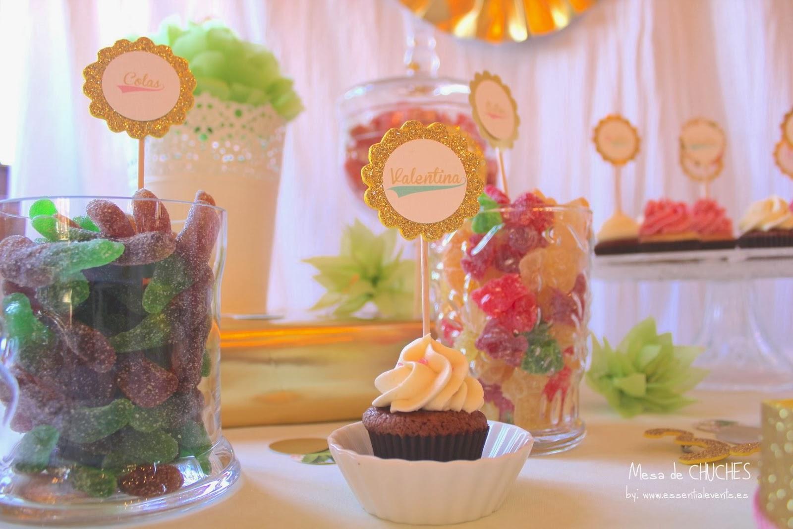 Candy bar buffet de chucher as ideas originales para - Mesa de chuches casera ...