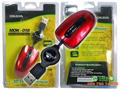 Mouse Tarik Okaya Retrackable 1000DPI