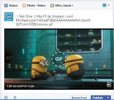 Layanan Terbaru Facebook, Posting Gambar Berformat GIF