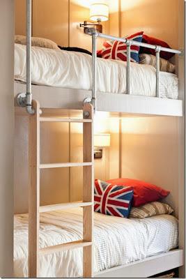 literas en dormitorio infantil