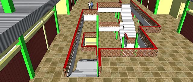 Site Plan Pusat Perbelanjaan