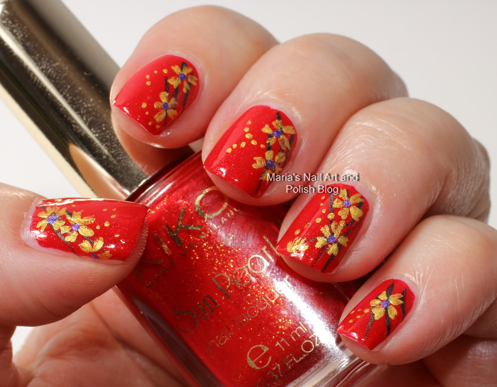 Marias Nail Art And Polish Blog Juli 2013