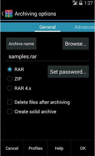 Aplicaciones gratis – Aplicación para comprimir y descomprimir archivos ZIP y RAR para teléfonos con sistema Android
