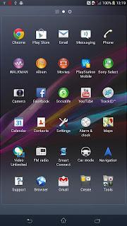 Sony Xperia ZU Leaked Screenshot