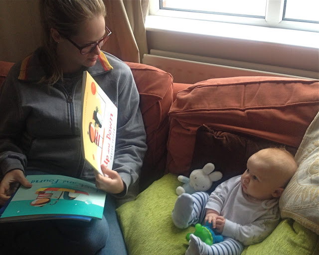 Reading to babies from birth