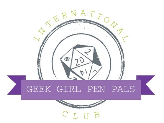 International Geek Girl Pen Pals Club Relaunch!