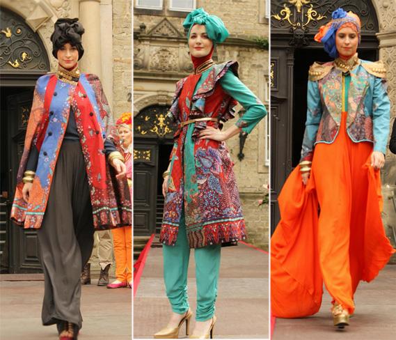 Fashionholic: Koleksi Busana Muslim Terbaru Dian Pelangi Bernuansa