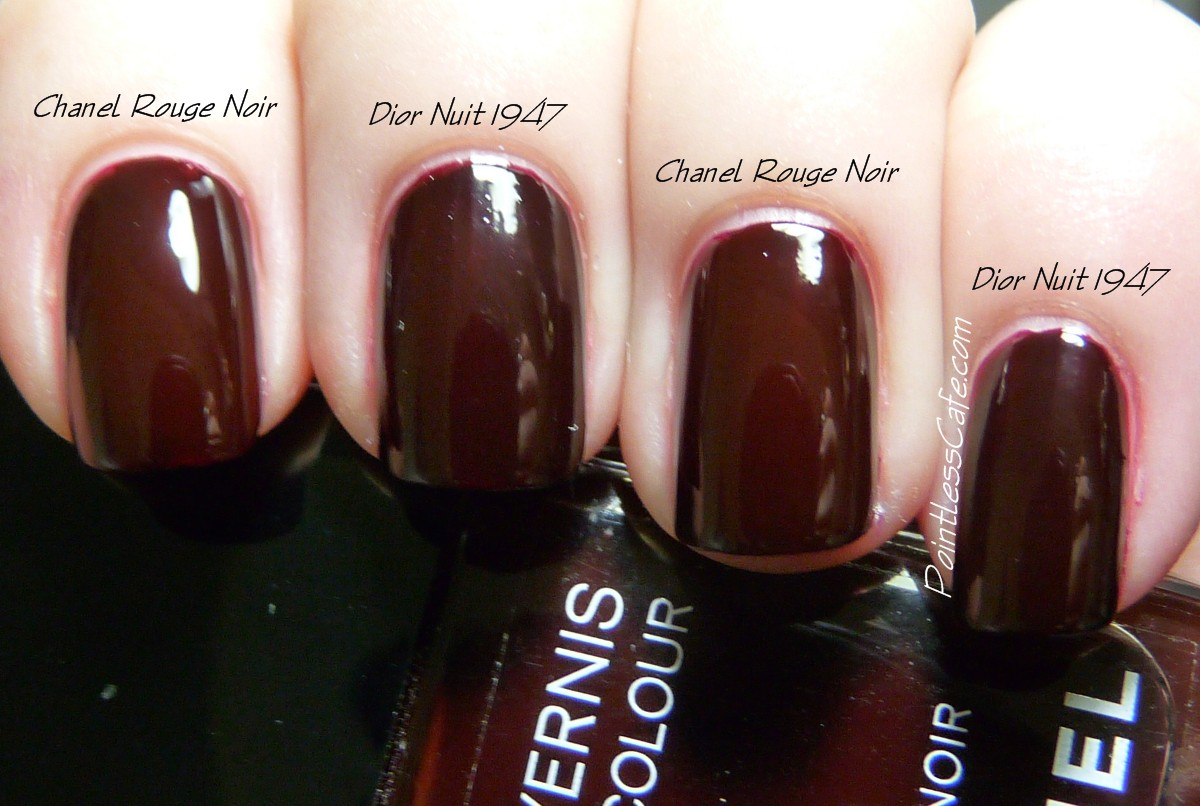 dior vs chanel nail polish
