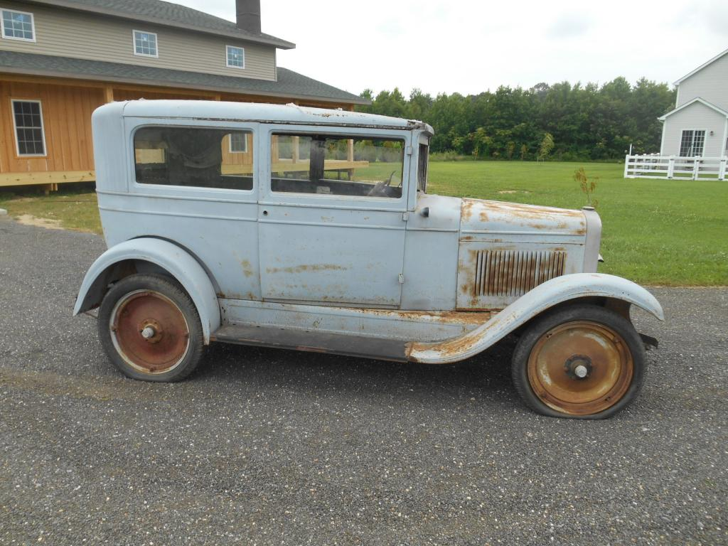 My 1928 chevrolet a 1928 sedan looking for a new home for 1928 chevrolet 2 door sedan