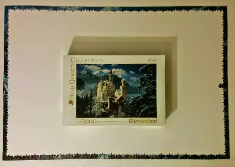 Clementoni Neuschwanstein Castle 2000 piece jigsaw puzzle