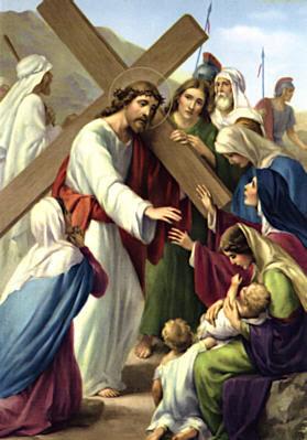viernes santo tercera palabra: