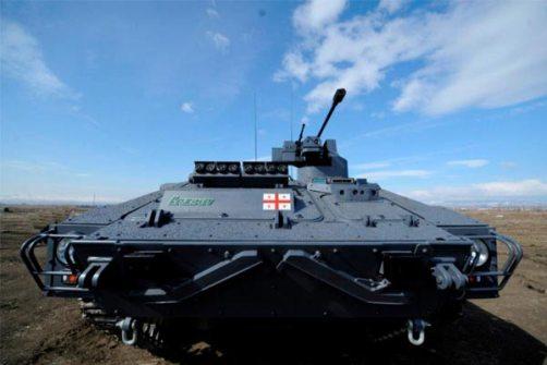 Kendaraan tempur lapis baja Georgia terbaru