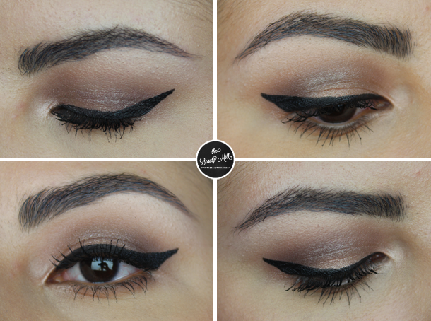 covergirl bombshell valentines makeup look copper fling review