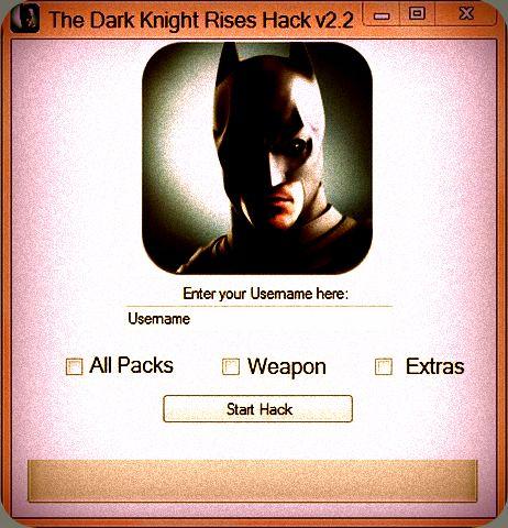 THE DARK KNIGHT RISES HACKS - Game and Software Hacks